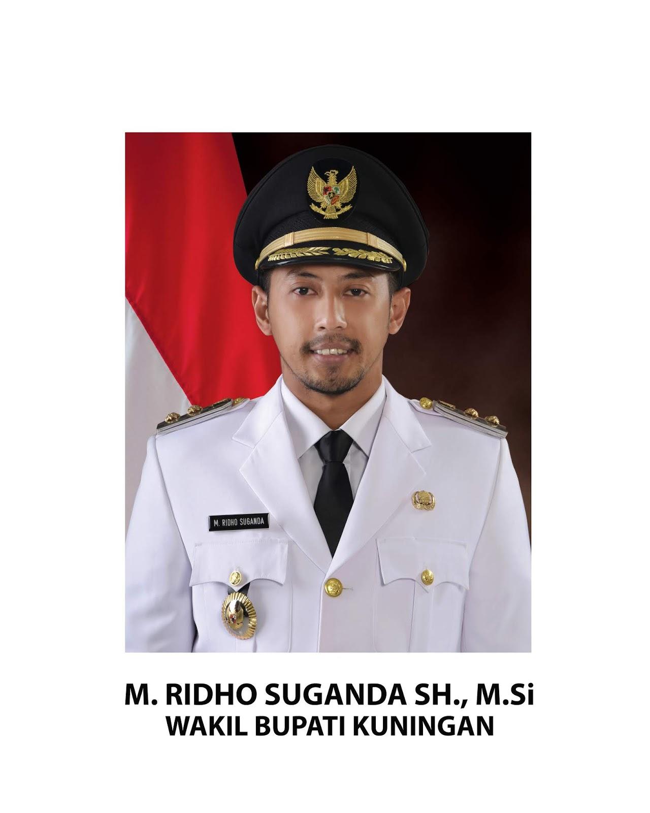 Wakil Bupati Kuningan Muhammad Ridho Suganda